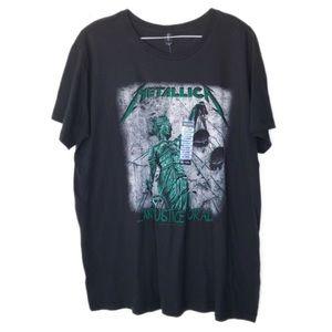NWT Metallica XXL t shirt